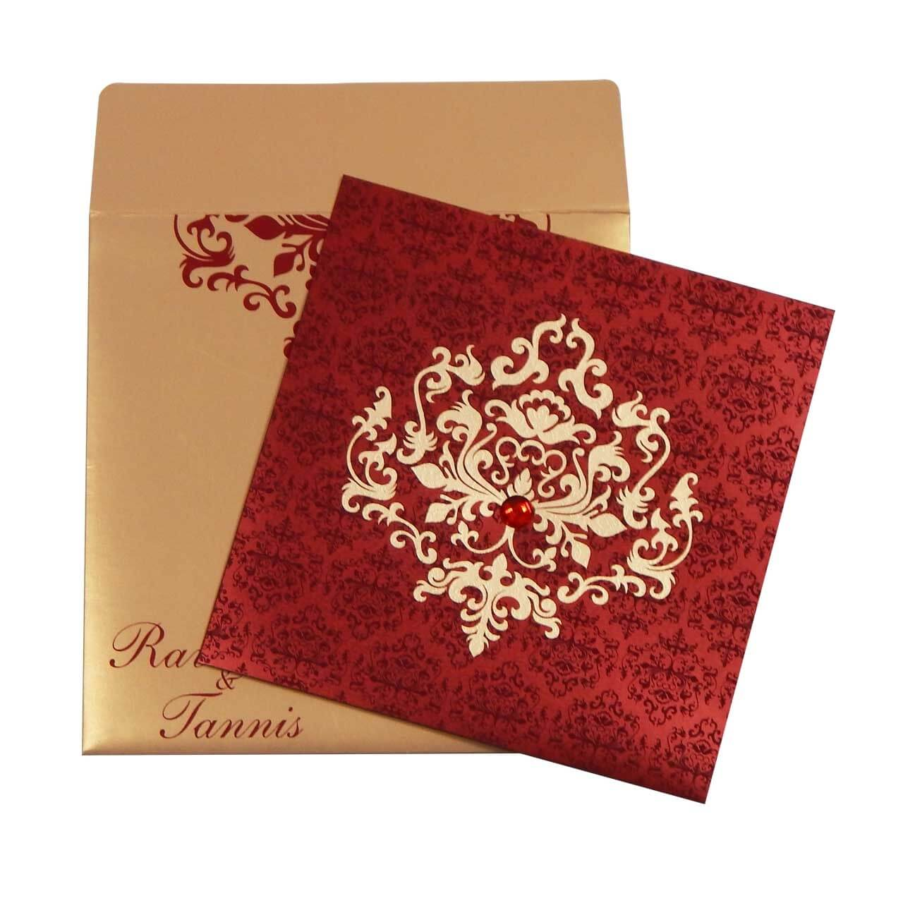 SIKH WEDDING CARDS T3-1088 Full View