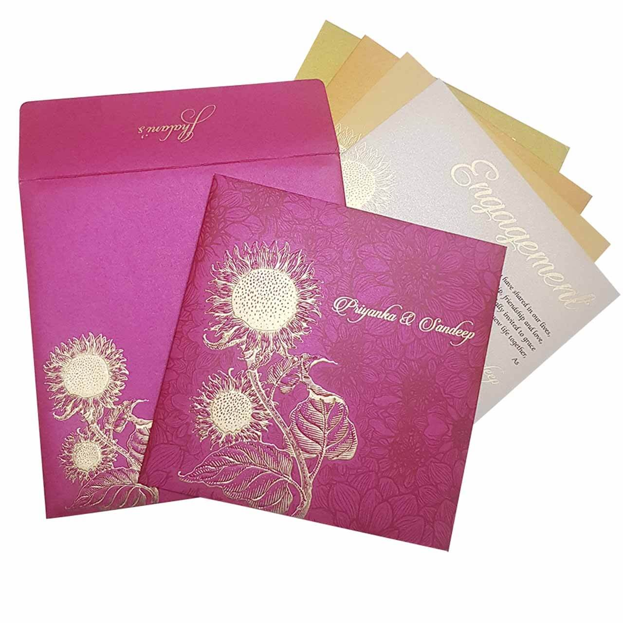 SIKH WEDDING CARDS T3-1046 Full View