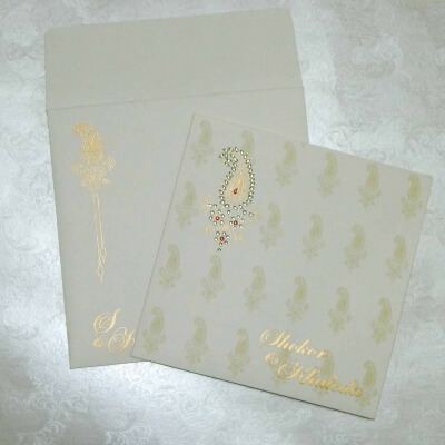 Sikh Wedding Cards T3-1145 Full View