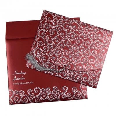 SIKH WEDDING CARDS T3-1220 Full View
