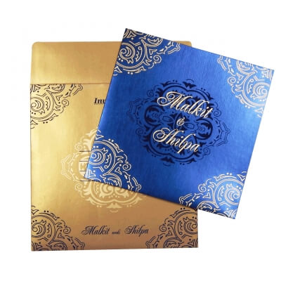 Sikh Wedding Cards T3-1731 Full View
