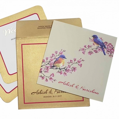 Sikh Wedding Cards T3-1089 Full View