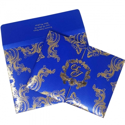 HARDBOUND PADDED INVITES T5-703 Full View