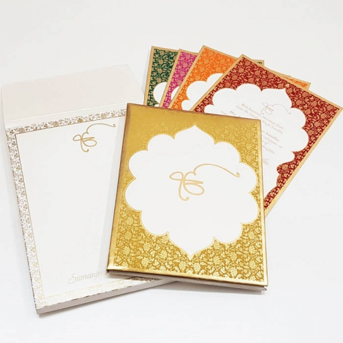 HARDBOUND PADDED INVITES T6-7114 Full View