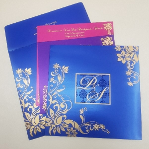Sikh Wedding Cards T3-1212 Full View