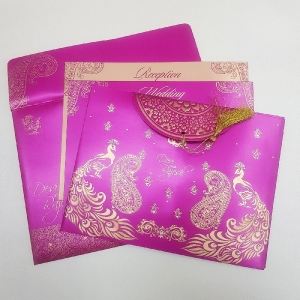 Sikh Wedding Cards T3-1111 Full View