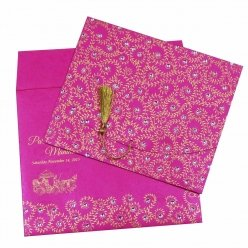 Sikh Wedding Cards T3-1231 Full View