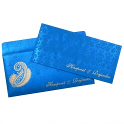 Sikh Wedding Cards T3-1711 Full View