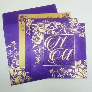 Christian Wedding Cards T4-1130 Full View