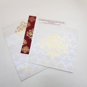 Sikh Wedding Cards T3-1736 Full View