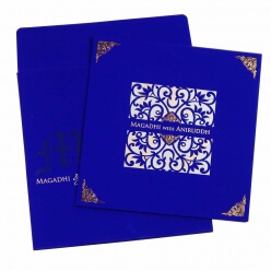 Sikh Wedding Cards T4-742 Full View
