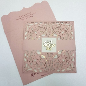 Sikh Wedding Cards T4-110 Full View