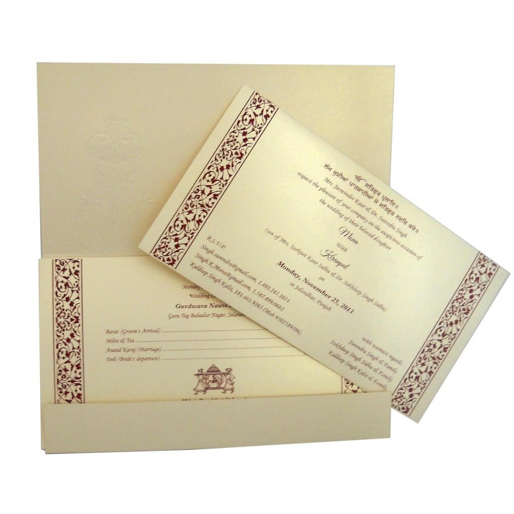 Indian Wedding Cards Best Indian Wedding Invitations Store Online