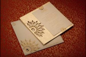 Traditional Indian Wedding Card