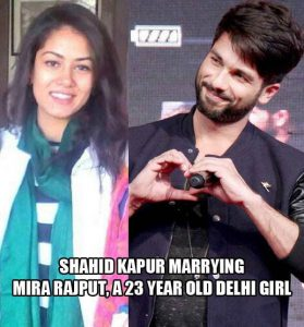 Shahid Kapoor Got Engaged