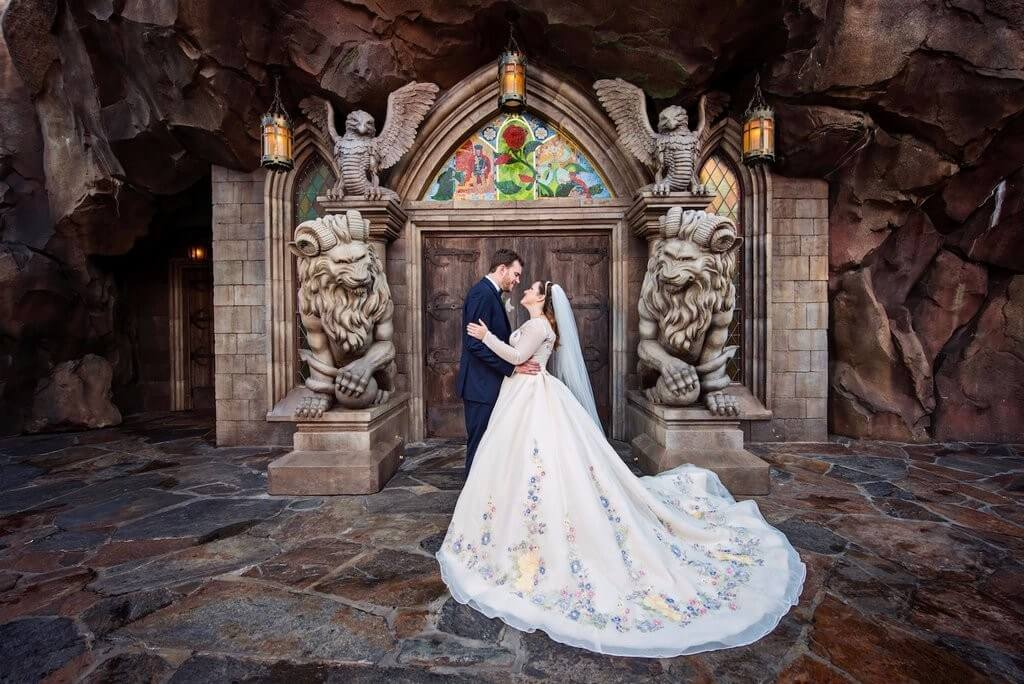 Disney-Fairy-Tale-Wedding-Shoot-Magic-Kingdom