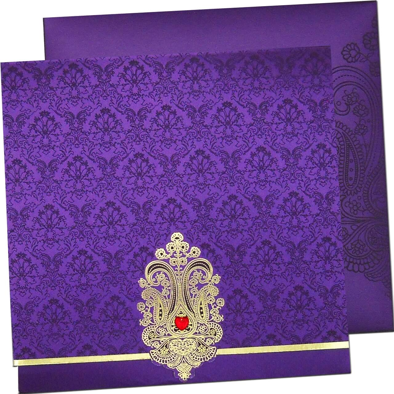W-1011 | The wedding cards online