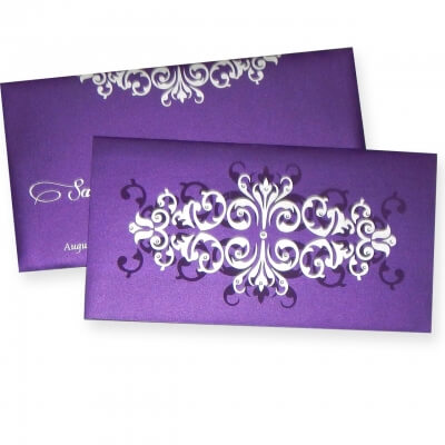 indian wedding card sample in english