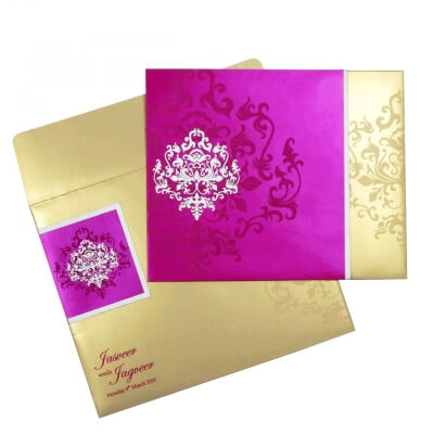 muslim wedding card matter for girl