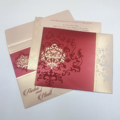 indian wedding card cdr file