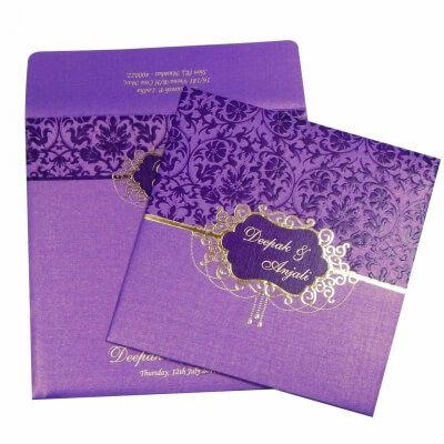Order Islamic Muslim Wedding Cards From 1 Indian Store Online