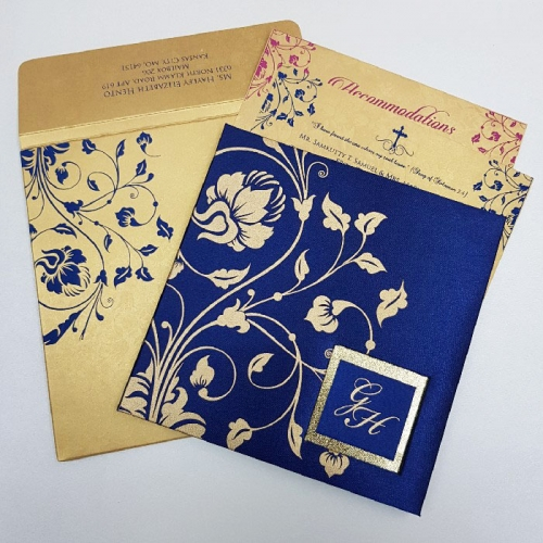 hindu wedding card english