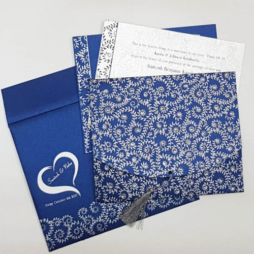 hindu wedding card design online