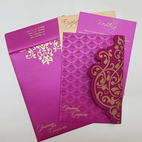 muslim wedding card examples