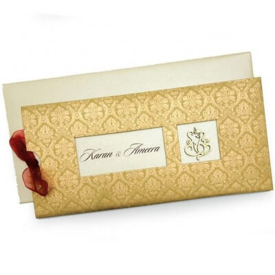 Christian Wedding Cards T4-999 Full View