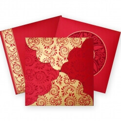 Christian Wedding Cards T4-1094 Full View