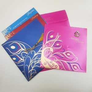Sikh Wedding Cards T2-1206 Full View