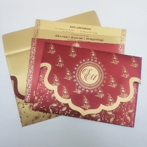 Sikh Wedding Cards T3-1217 Full View