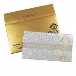 Christian Wedding Cards T4-1724 Full View