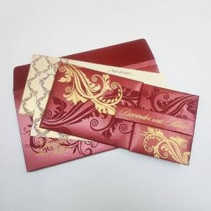 Sikh Wedding Cards T3-1109 Full View