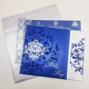 Christian Wedding Cards T4-1101 Full View
