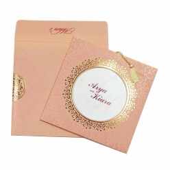 Sikh Wedding Cards T3-792P Full View