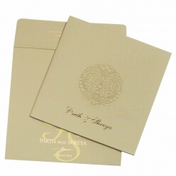 Christian Wedding Cards T4-157 Full View