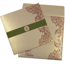 Christian Wedding Cards T4-1039 Full View