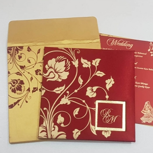 Sikh Wedding Cards T3-029 Full View