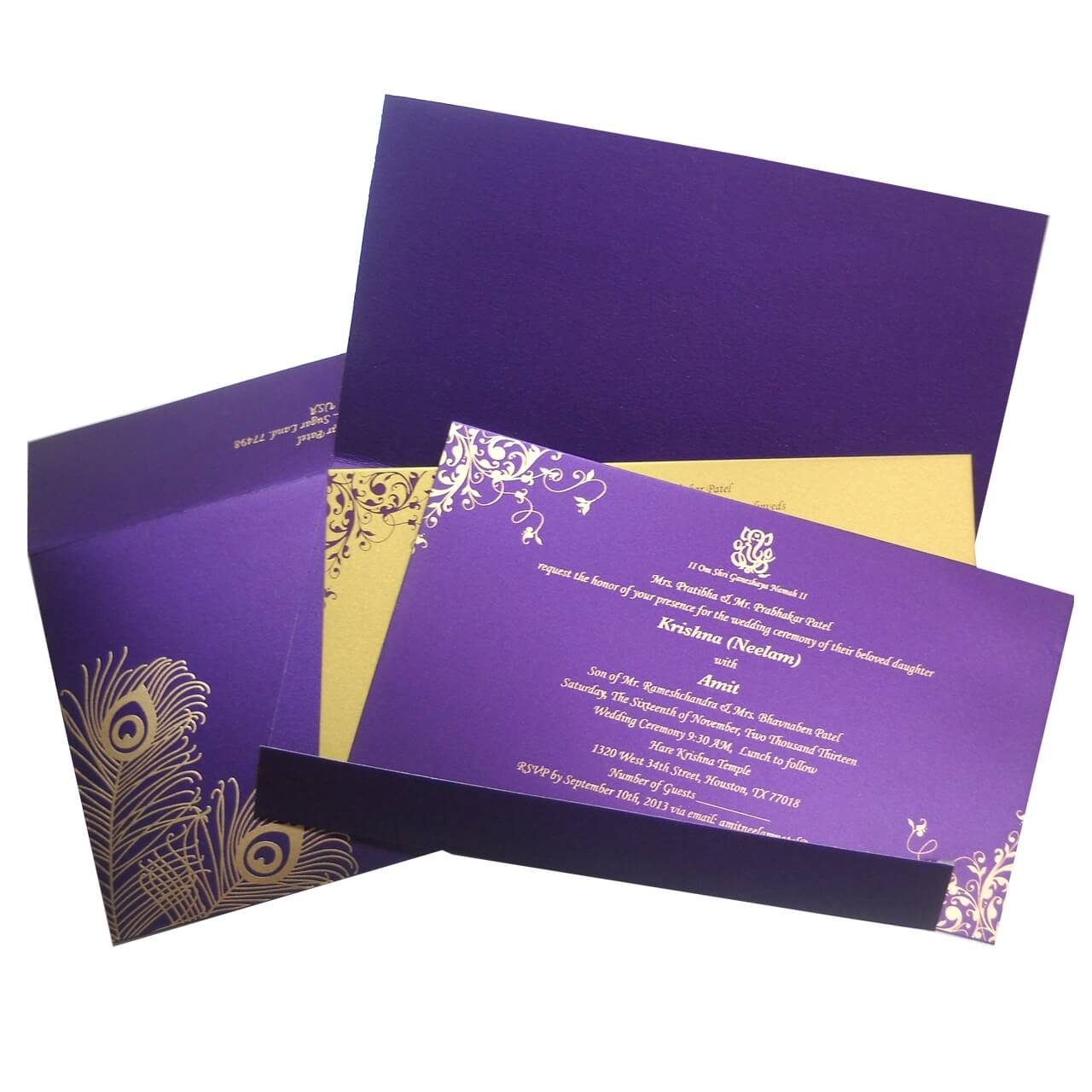The Wedding Cards Online | Indian Wedding Cards: Beautiful Indian ...