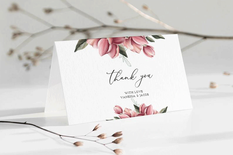 order indian wedding thank you cards online